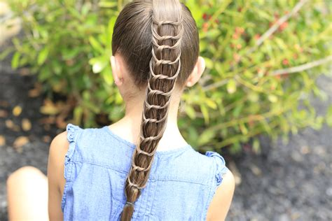 cute girl hairstyles knot knotted braids cute girls hairstyles
