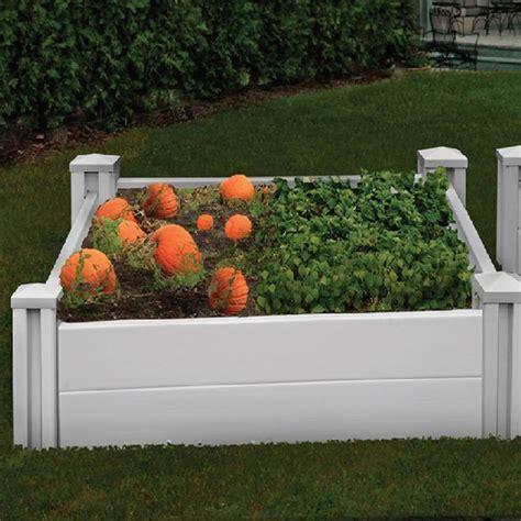 vinyl raised garden beds garden beds outdoor raised vinyl garden beds chadsworth
