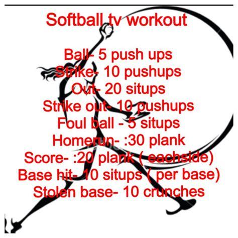 best 25 softball workouts ideas on workout