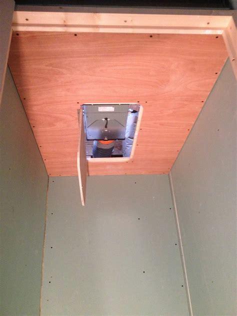 cr 233 ation d une trappe de visite et faux plafond technique