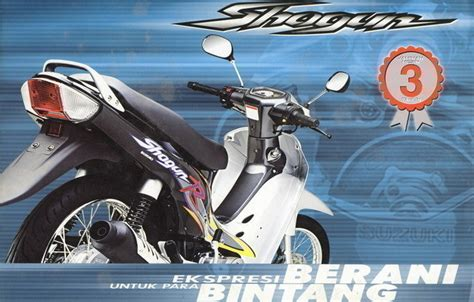 Striping Decal Variasi Shogun 110 suzuki how models per bike evolve