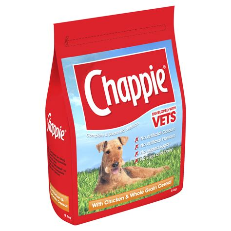 puppy foods chappie chicken original beef wholesome rice food