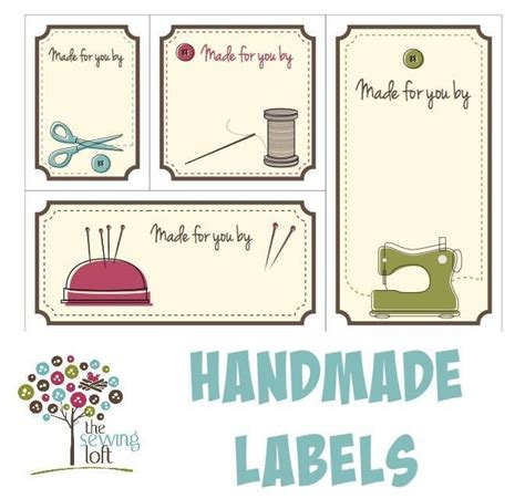 Sewing Tags Handmade By - best 25 sewing labels ideas on diy clothes