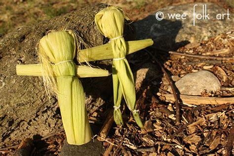 baby corn husk doll corn husk dolls wee folk