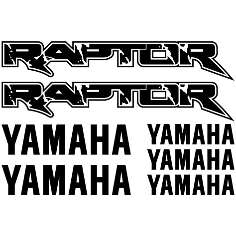 Sticker Yamaha Quad by Stickers Yamaha Raptor Pas Cher