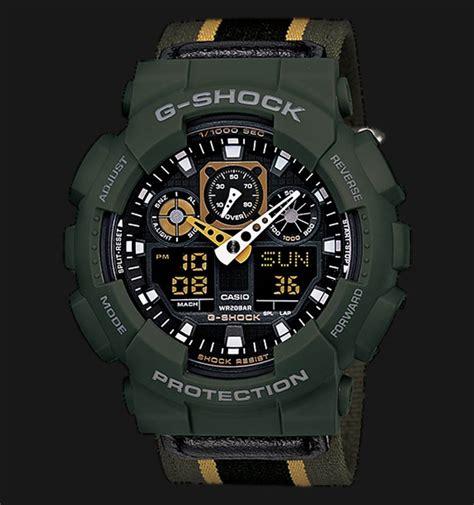 Casio G Shock Ga 100 Diskon casio g shock ga 100mc 3adr jamtangan