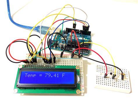 ntc thermistor arduino make an arduino temperature sensor thermistor tutorial