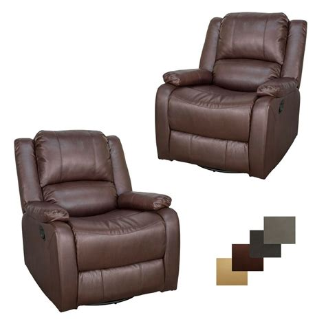 Rv Chair - 2 recpro charles 30 quot rv sgr swivel glider recliner chair