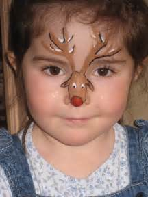 Christmas face painting designs car pictures