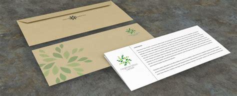 Envelopes/Letterheads design Orange Cup Studio
