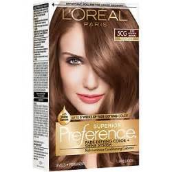 loreal brown hair color l oreal preference fade defying color shine system