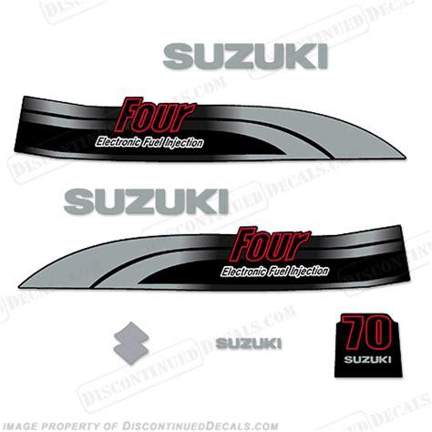 Suzuki Decals Suzuki 70hp Df70 Decal Kit 1998 2002