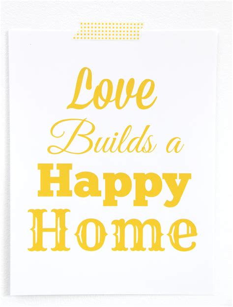builds a happy home free printable smashed peas