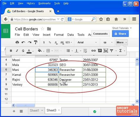 How Do I Merge Excel Spreadsheets by How To Change Cells Border Color In Docs Spreadsheet