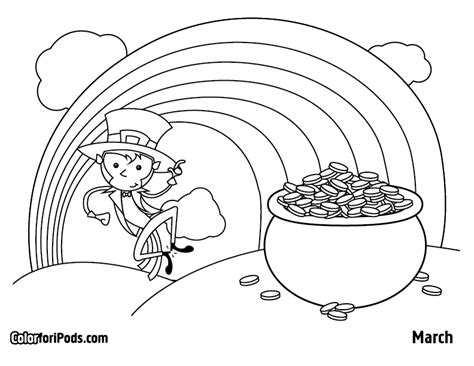 March Coloring Page Coloring Home March Coloring Pages Free