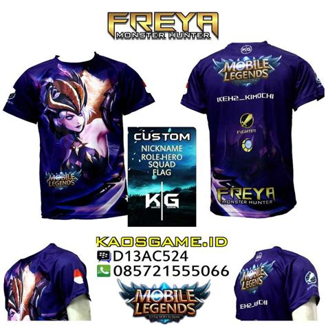 Kaos Hayabusa Mobile Legends Print 64 best mobile legend t shirt images on