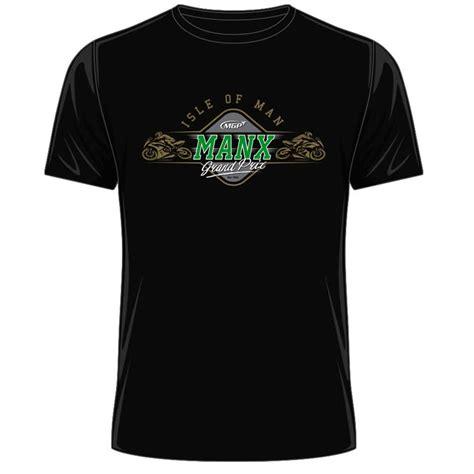 Mgp Tshirt 2017 official isle of manx grand prix black t shirt