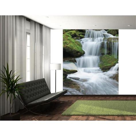 waterfall wallpaper for walls 1 wall tropical forest waterfall wallpaper mural 1 58m x 2 32m