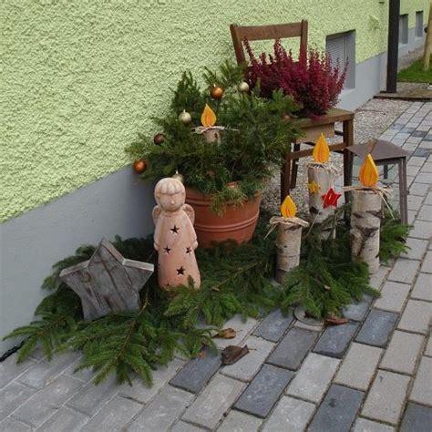Weihnachtsdeko Fensterbank Draussen by Weihnachtsdeko Aus Holz Fur Drausen Bvrao
