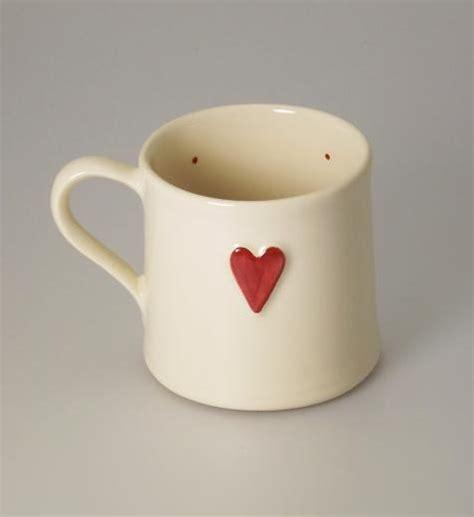 heart design mug deliverance country pottery deliverance shaker 250ml