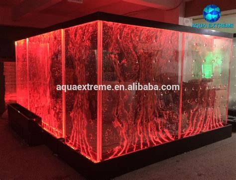 led light bubble wall led water bubble wall panel for room divider buy water