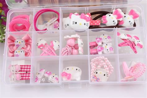 Hello Accessories Set hello accessories colorful hairclips for