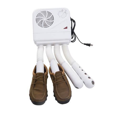 homcom boot shoe and glove 4 port electric dryer 4 for