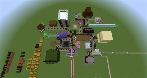 theme park popularmmos popularmmos gamingwithjen themepark minecraft project