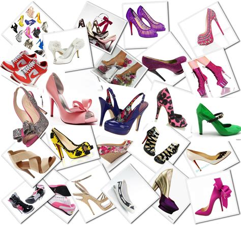 different types of shoes for to the eye the different types of