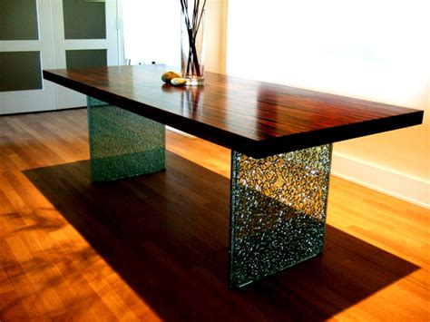 Contemporary Dining Room Lighting Shatter Glass Table Hawley Design Furnishings