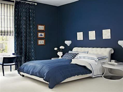 dark blue bedroom walls blue wall bedroom ideas your dream home