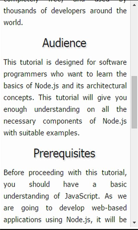 node js tutorial for beginners with exles node js tutorial for beginners amazon com au appstore
