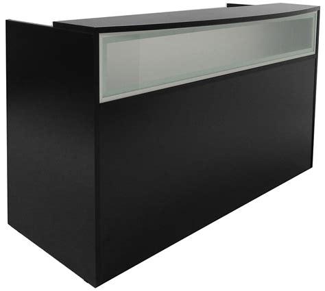 Black Salon Reception Desk Reception Salon Desk