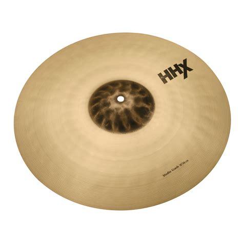 Sabian Cymbal Hhx 18 sabian 18 quot hhx studio crash cymbal 11806x