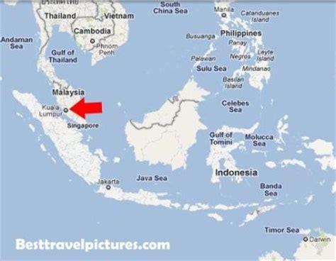 where is malaysia on a world map kuala lumpur malaysia map map kuala lumpur 点力图库