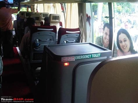 volvo ksrtc introduces multi facility bus  pantry  toilet
