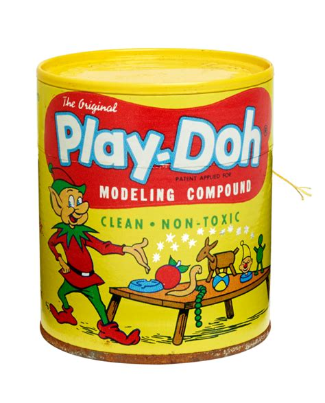 Play Doh Original a look back at vintage play doh cans and playsets mental floss