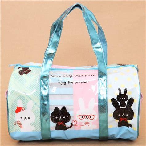 Kopenhagen Mini Bunny Bagcharm Import 1 blue rabbit and cat plastic glitter bag from japan handbags bags accessories shop modes4u