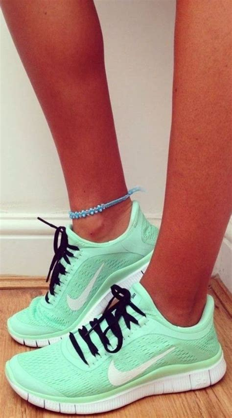 womans nike sneakers nike mint shoes my style fashion