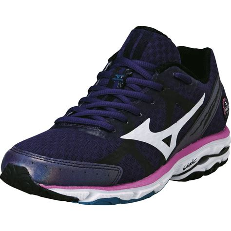 mizuno womens shoes clearance mizuno wave rider 17 womens running shoes in purple at