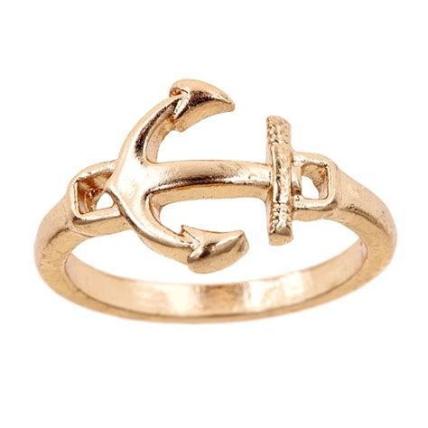 anchor ring gold