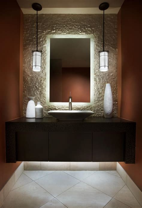 powder room lighting