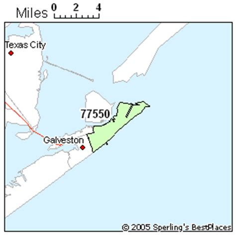 galveston texas zip code map best place to live in galveston zip 77550 texas