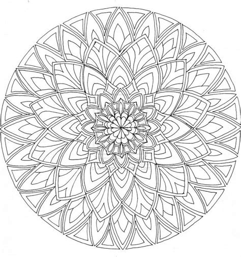 free mandala coloring pages for adults pdf free printable mandalas coloring pages adults