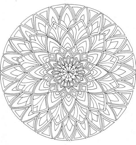 Download Free Printable Mandalas Coloring Pages Adults Mandala Coloring Pages Pdf