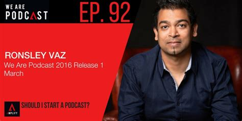 Mba Podcast Entrepreneur by 92 Ronsley At We Are Podcast 2016 Podcasting Sales