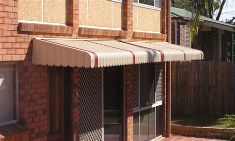 Fixed Canopy Metal Awnings by Fixed Awnings Metal