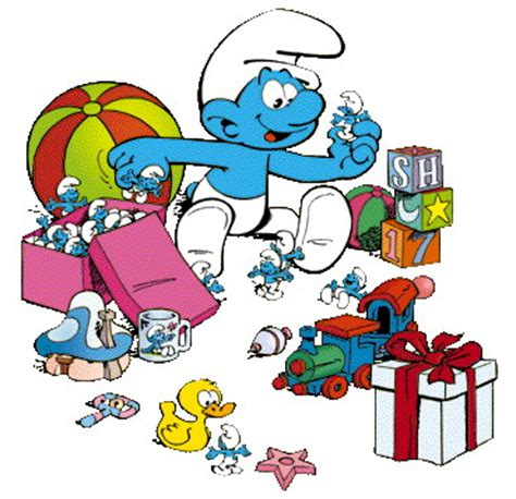 Smurfs 19 The Smurfer The cliparts smurfen 187 animaatjes nl