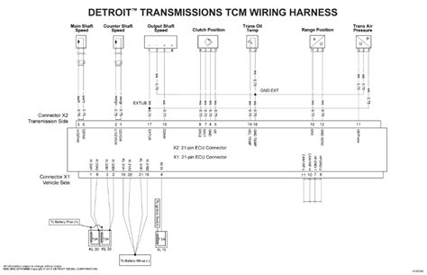 detroit series 60 ecm ddec v wiring diagram wiring