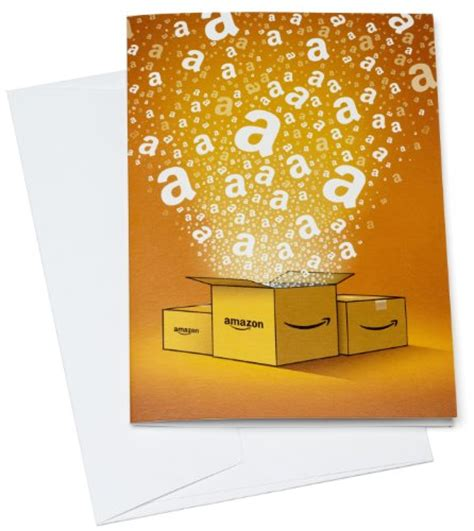 Amazon Gift Card Packaging - amazon co uk gift card in a greeting card 163 25 amazon boxes sale deals